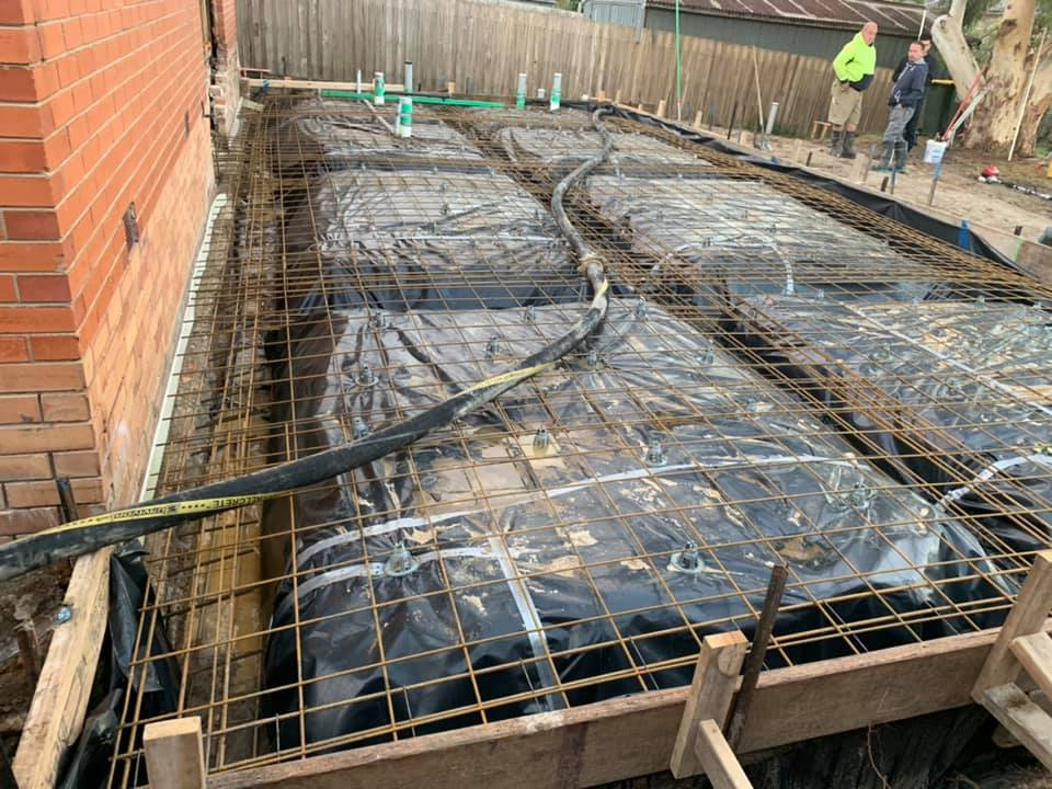 Preparing Slab For Single Storey Home